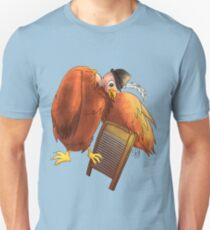 Polly Plays a  Washboard Unisex T-Shirt