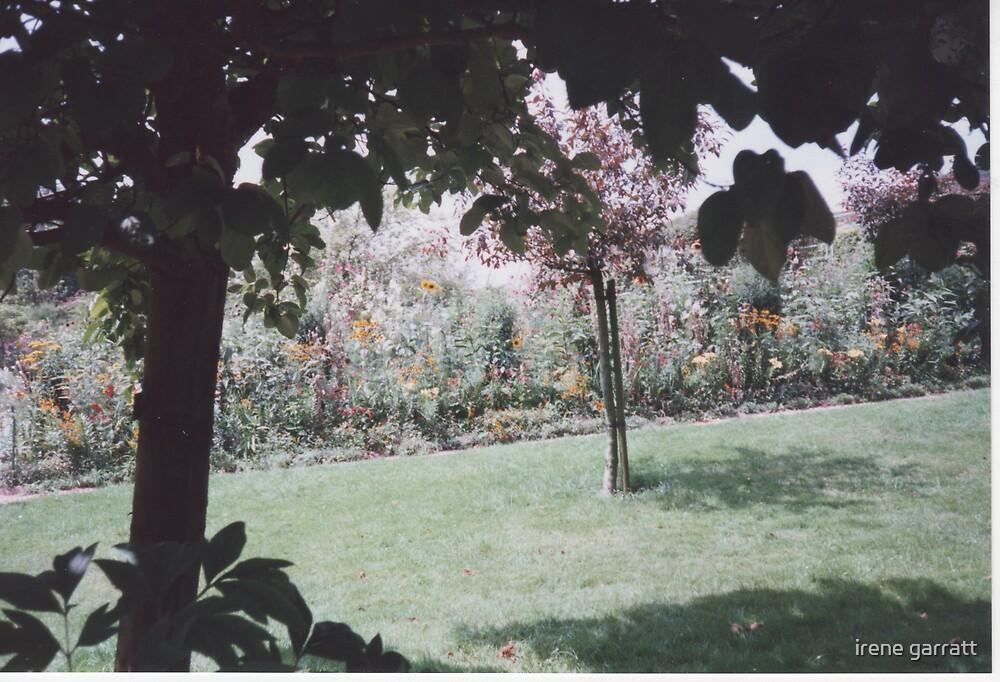 In Monet's garden by irene garratt