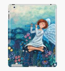 musician angel iPad Case/Skin