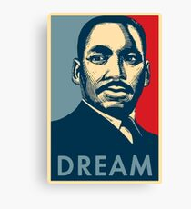 Martin Luther King Jr. - DREAM Canvas Print