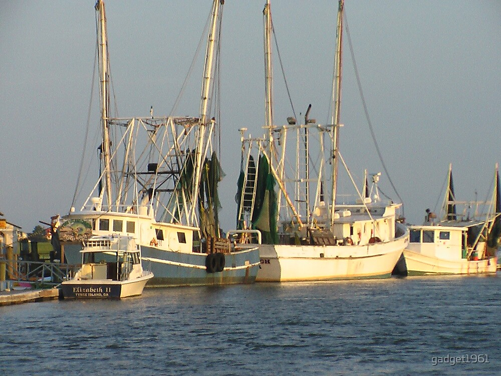 shrimp boats by gadget1961