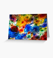 Amazing Chihuly Glass Greeting Card