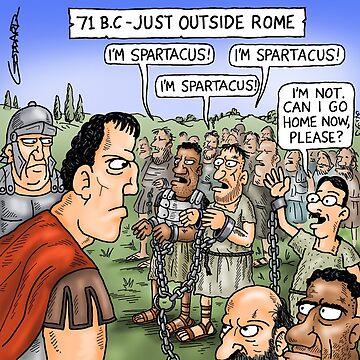 Spartacus by goddardcartoons