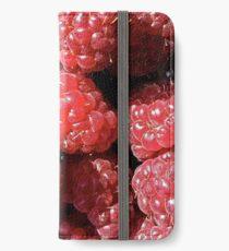 Delicious raspberries iPhone Wallet/Case/Skin