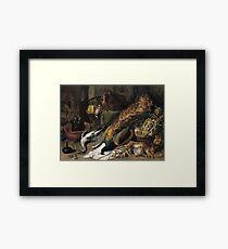 Frans Snyders - Still Life With A Wine Cooler1610 Framed Print