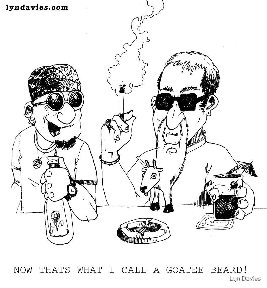 Gotee beard by Lyn Davies