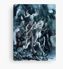 Arawn The Horned King Canvas Print