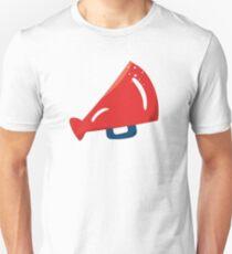 Red Cheerleader Horn Unisex T-Shirt