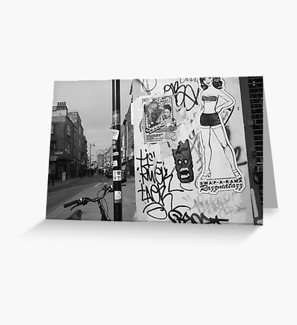 E1 CORNER Greeting Card