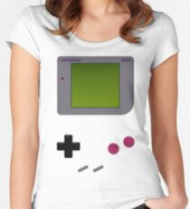 GAME BOY INSPIRED Women's Fitted Scoop T-Shirt