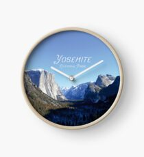 Yosemite National Park - USA - Wilderness Photography - The Great Outdoors  Clock
