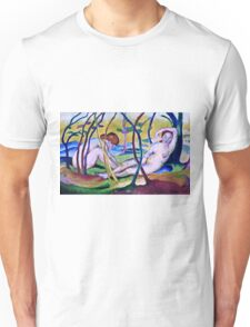 Franz Marc - Nudes Under Trees (1911) Unisex T-Shirt