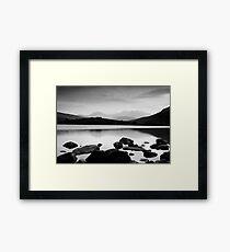 Snowdon Horseshoe at Dusk Framed Print