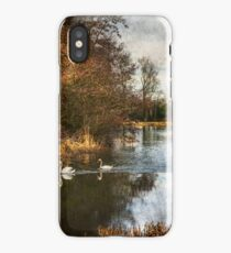 Winter Scene On The Kennet And Avon iPhone Case/Skin