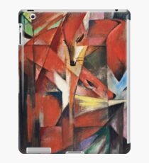 Franz Marc - The Foxes (1913) iPad Case/Skin