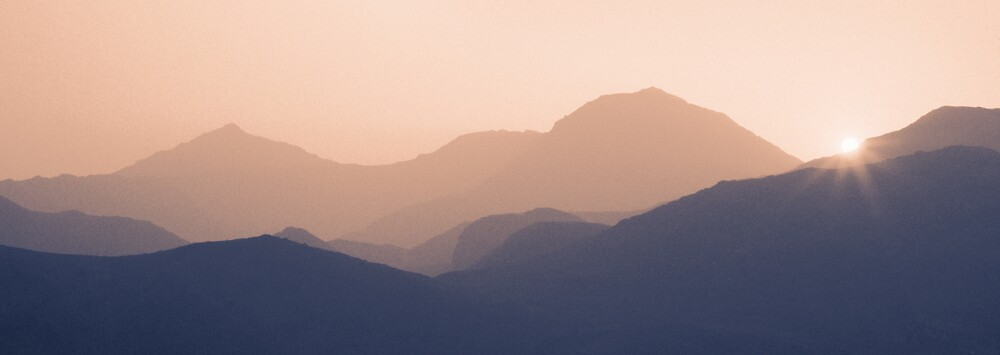 Snowdon Sunset by Hywel Harris