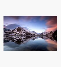 Brothers Water Sunrise Photographic Print