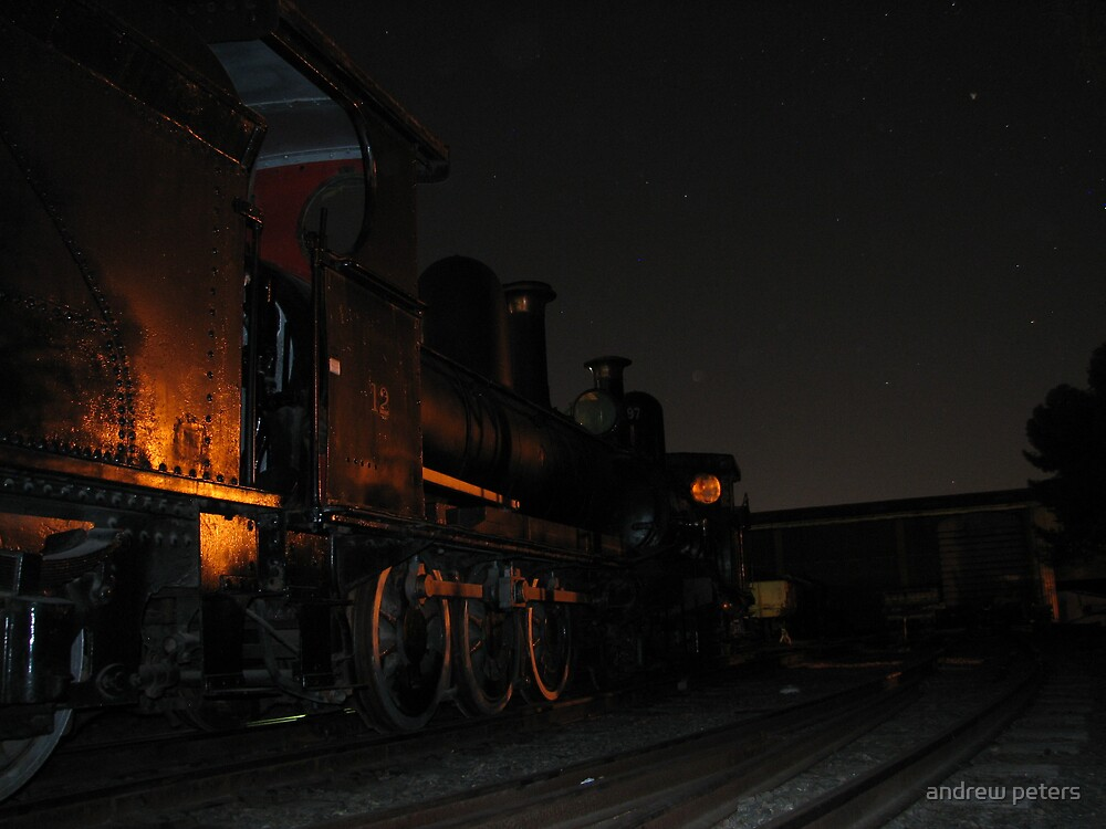 y class locos at night by andrew peters