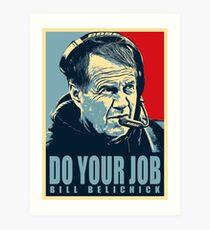 Bill belichick Art Print