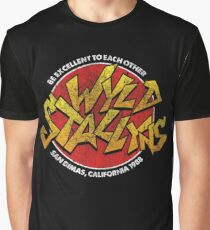 Bill & Ted - Wild Stallyns Band Patch Graphic T-Shirt