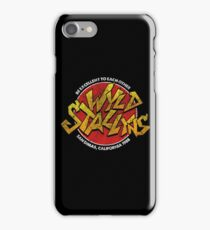 Bill & Ted - Wild Stallyns Band Patch iPhone Case/Skin