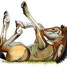 """""""Pony Frolick #1 """"  by Winterberry  Farm Studio"""