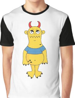 Yellow monster Graphic T-Shirt