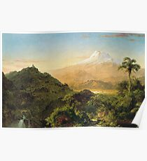 Frederic Edwin Church - South American Landscape Poster