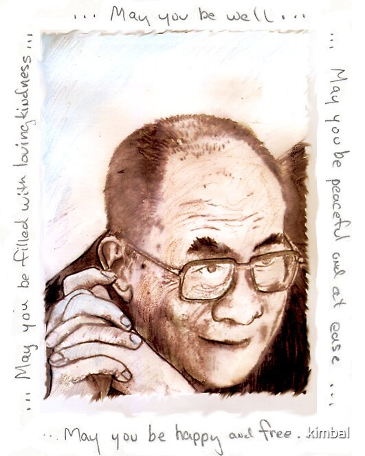 HHDL..loving kindness by kimbal