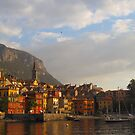 Lake Como at Sunset by Stephen Heliczer