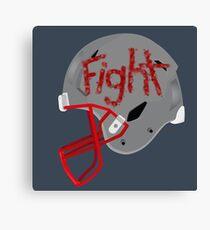 Football - Fight Win Canvas Print