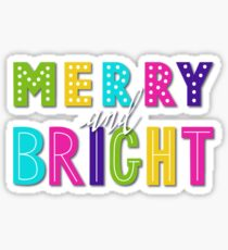 Merry and Bright Sticker