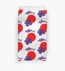 Hawaiian Kings Duvet Cover