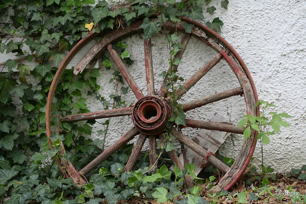 Wagon Wheel by Dixiepix