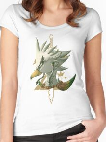 Teba - Breath of the Wild Women's Fitted Scoop T-Shirt