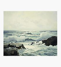 Frederick Judd Waugh - Silver Light Photographic Print