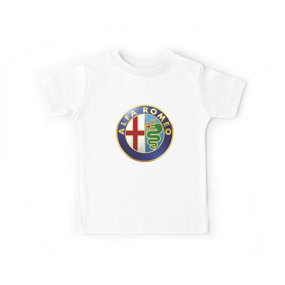 Alfa Romeo Kids Tees By Bilonghier Redbubble Sweatshirt