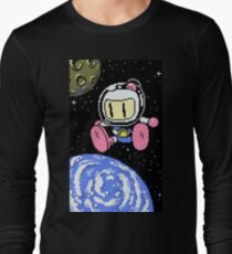 Panic Bomber W - Space 1 ☾✩ Long Sleeve T-Shirt