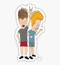 Beavis and butthead Sticker