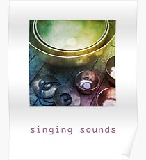The sound of singing bowls Poster