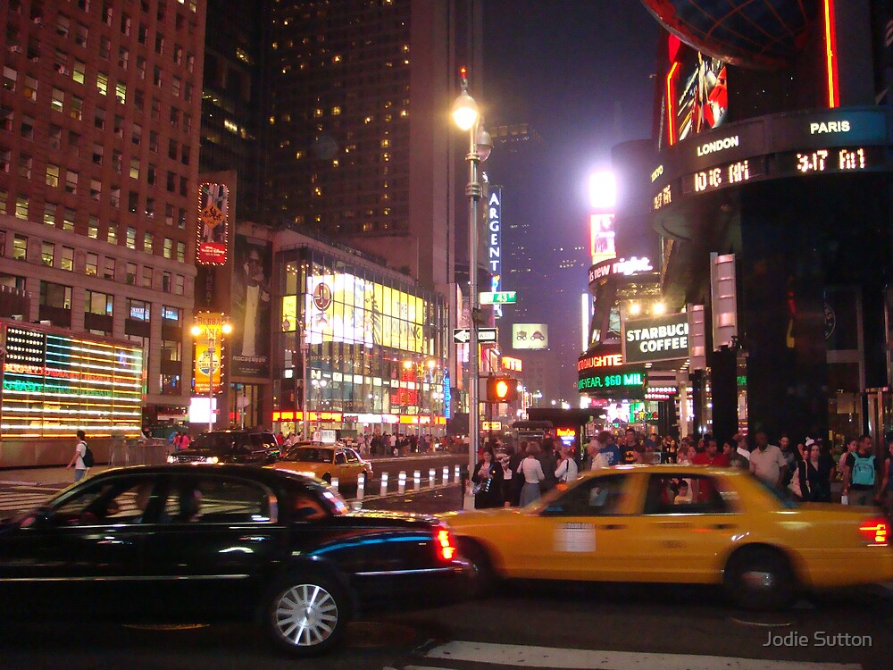 Times Square  by Jodie Sutton