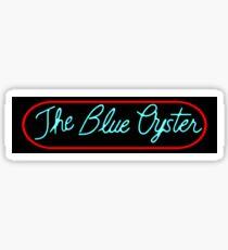 Police Academy - Blue Oyster Bar Sign Sticker