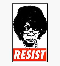 Maxine RESIST! Photographic Print