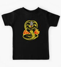 The Karate Kid - Cobra Kai Logo Kids Tee