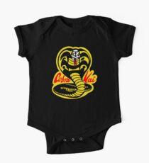 Das Karate-Kind - Kobra-Kai-Logo Baby Body Kurzarm