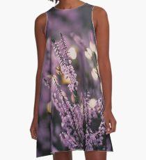 Dreamy Lavender A-Line Dress