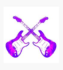 American Electric Guitar Photographic Print