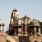 Khajuraho Temple Steps by John Dalkin