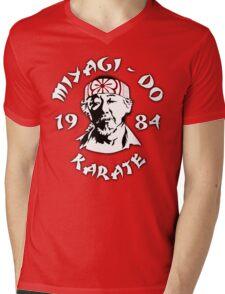 The Karate Kid - Mr. Miyagi - Miyagi Do Karate Mens V-Neck T-Shirt