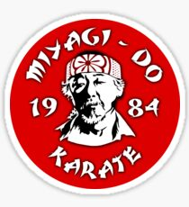 The Karate Kid - Mr. Miyagi - Miyagi Do Karate Sticker